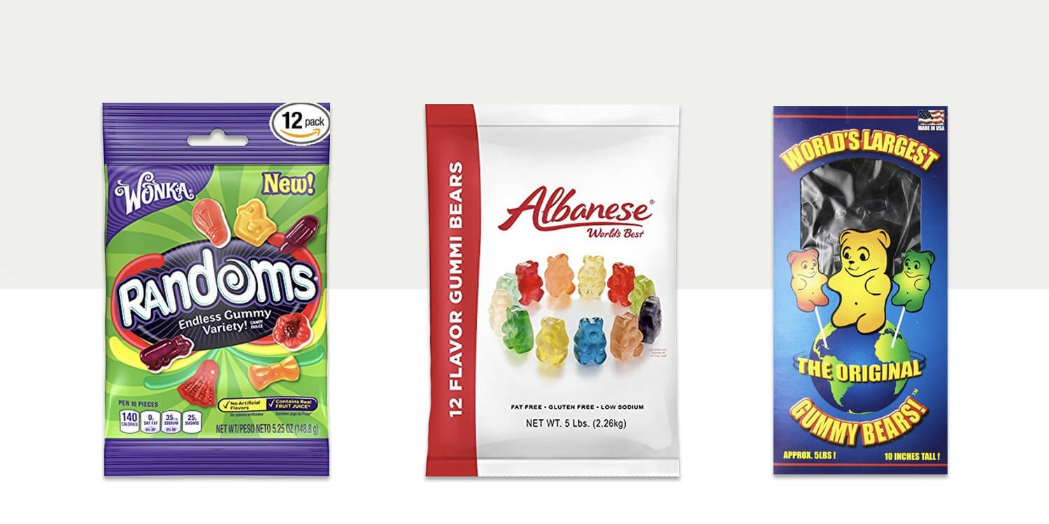 15 Best Gummy Candy Choices - For The Sweettooth